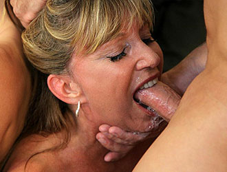 Hot Face Fucking Milfs In Brutal Blowjob On Facial Abuse